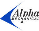 Alpha Mechanical Contracting Logo